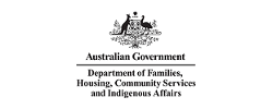 Dept. of Families, Community Services and Indigenous Affairs logo